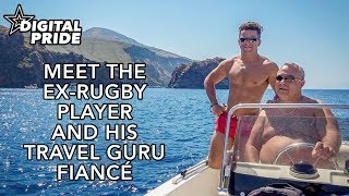 Meet the ex-rugby player and his travel guru fiance
