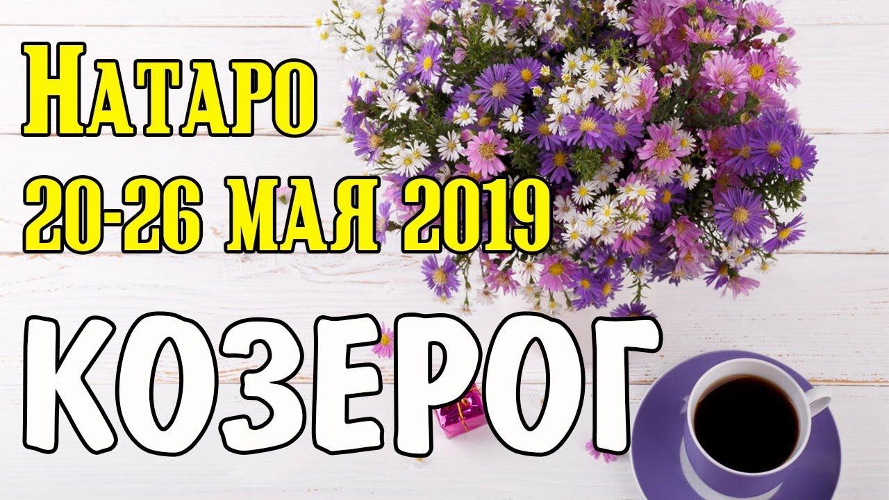 КОЗЕРОГ — таро прогноз 20-26 мая 2019 года НАТАРО.