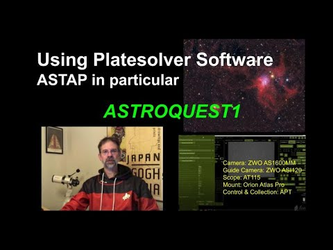 Using Platesolver Software - ASTAP In Particular