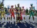 Power Rangers Mystic Force - The Light - Power Rangers vs Magma (Episode 24)