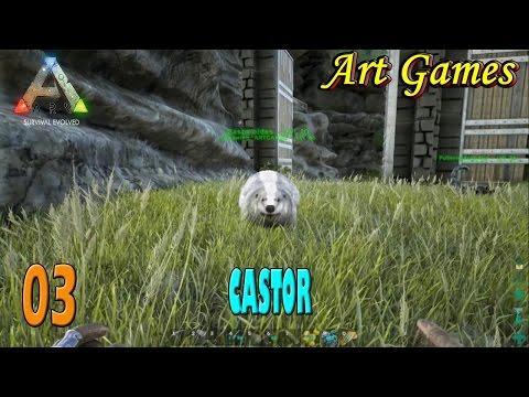 Ark Tribal Pegando o Castor 03