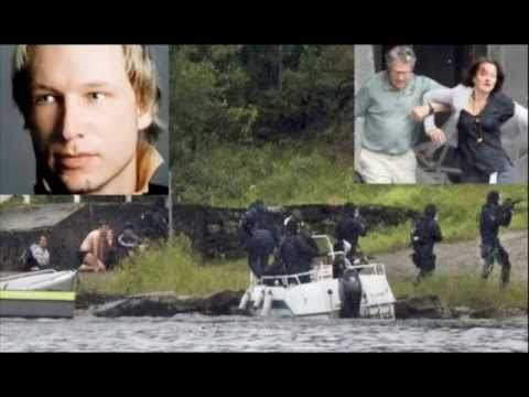 BOMBING and youth camp MASSACRE in Norway 2011 breaking news