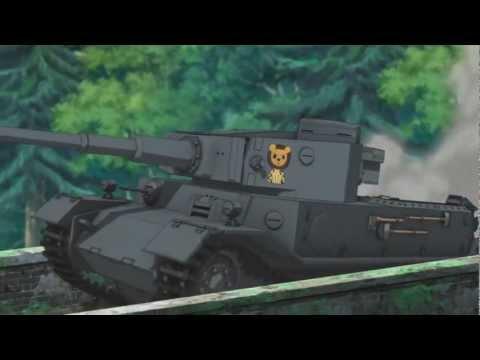 Girls und Panzer - Tiger P Nitro Boost