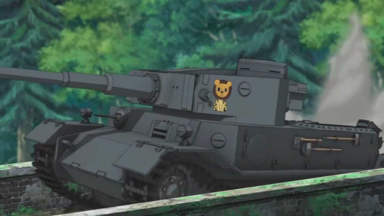 Girls Und Panzer Tiger P Nitro Boost Youtube