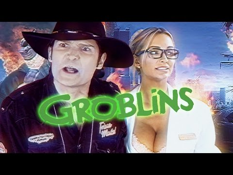 Beware the Groblins! Ft. Corey Feldman, Zach Galligan, and Barbara Crampton Nerdist Comedy Short
