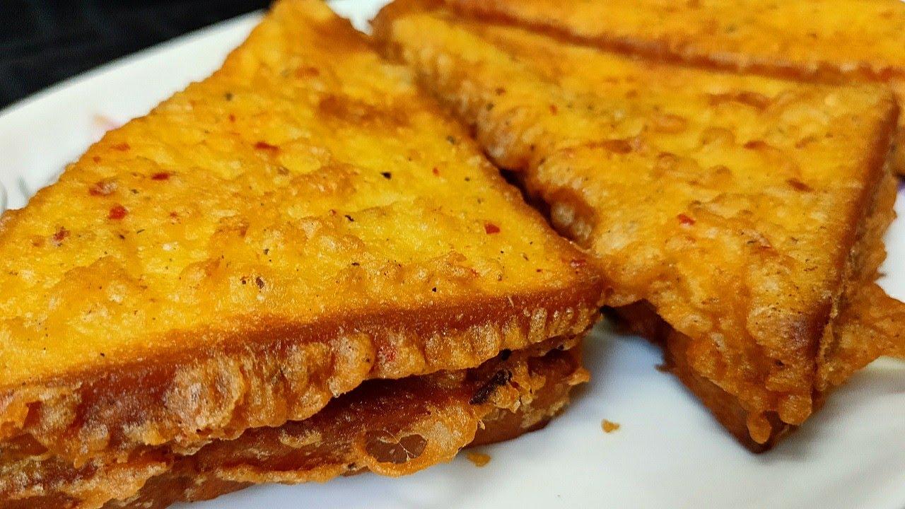 বিকেলের নাস্তায় তৈরি করুন মজাদার চিকেন টোস্ট রেসিপি।নাস্তা রেসিপি। chicken toast recipe।nasta recipe