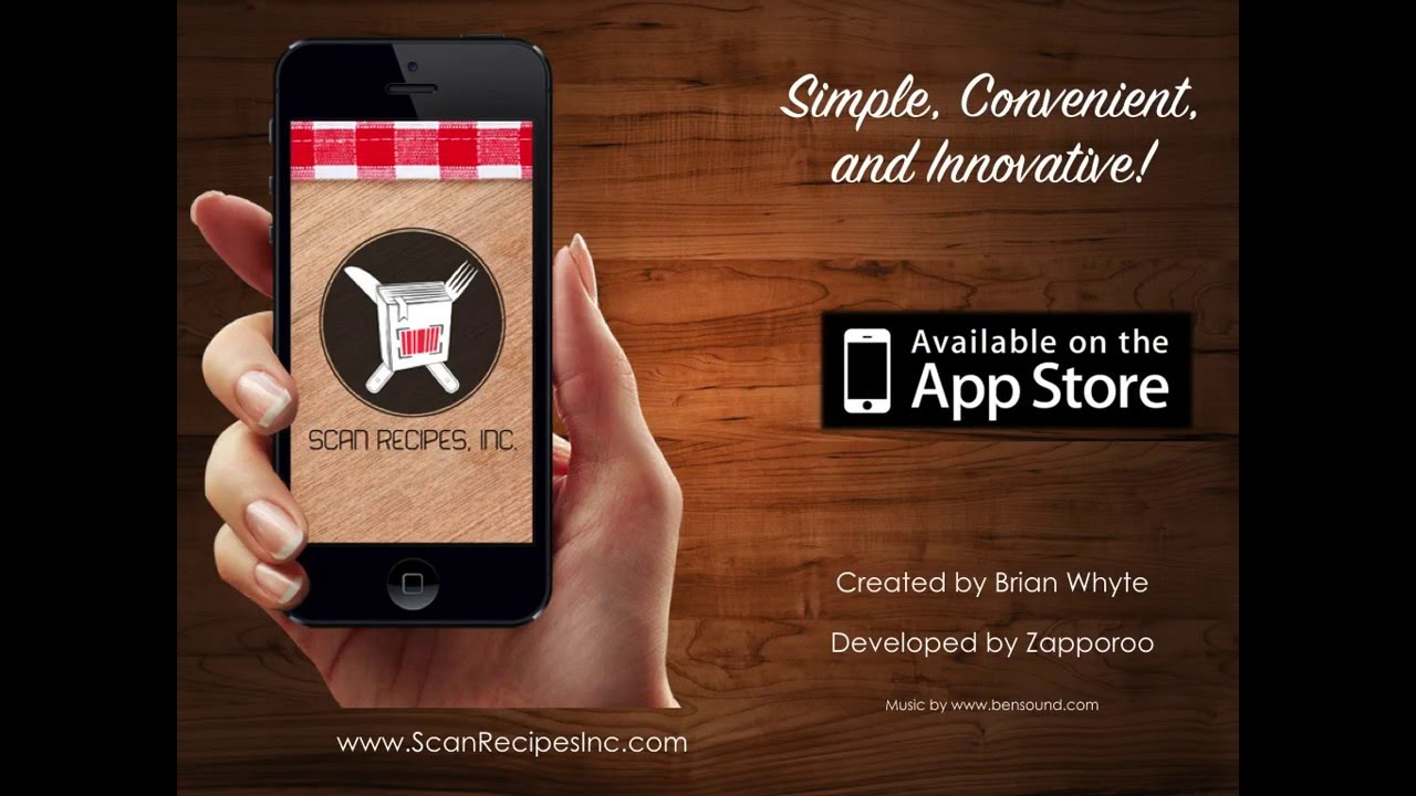 Scan Recipes - YouTube