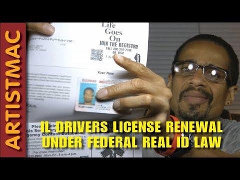 illinois driving license renewal test