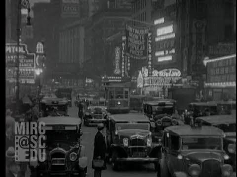 Times Square and Broadway, 1929-1931
