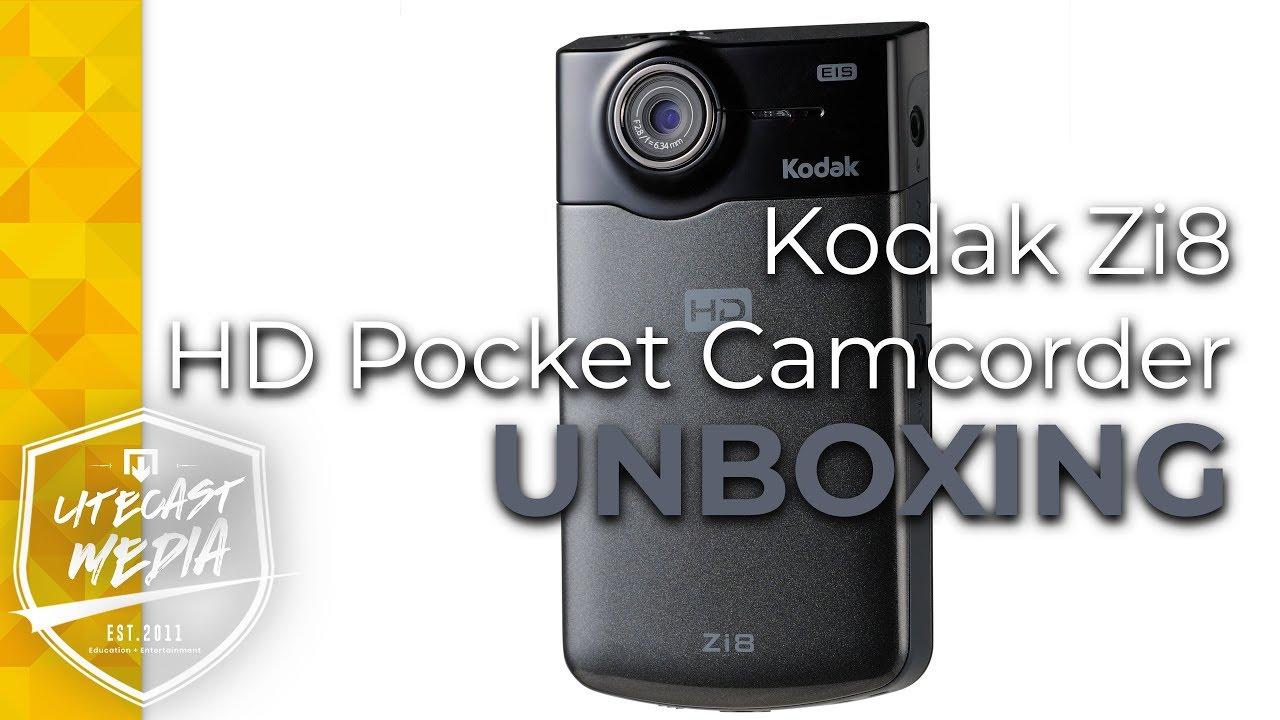Kodak Zi8 Hd Pocket Camcorder Review Youtube