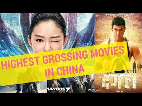 Highest Grossing Movies In China TOP 30