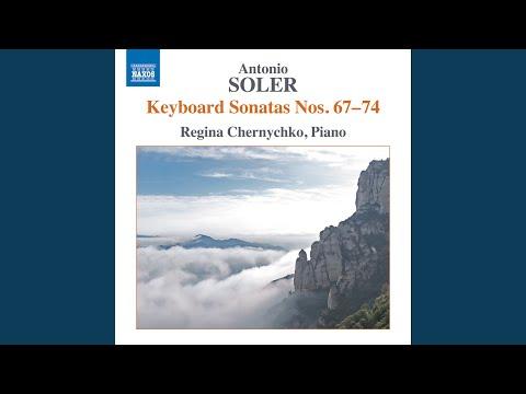 """Keyboard Sonata No. 72 in F Minor, R. 72 """"Dorian"""""""