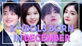 K Idols Born In December Youtube