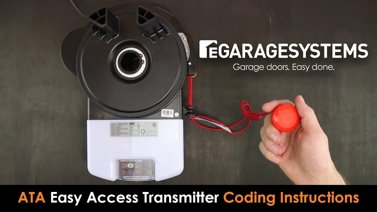 Coding The Ata Eat Easy Access Transmitter Into The Ata