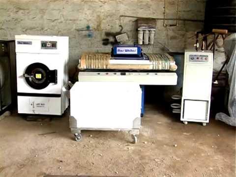Star Whites Laundry Equipment Demo