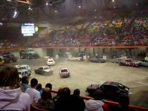 2008 demolition derby at monster truck show in rapid city. Black Bedroom Furniture Sets. Home Design Ideas