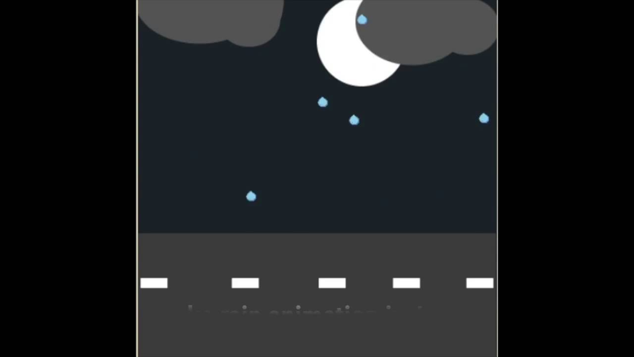 How To Make Rain Animation In Javascript