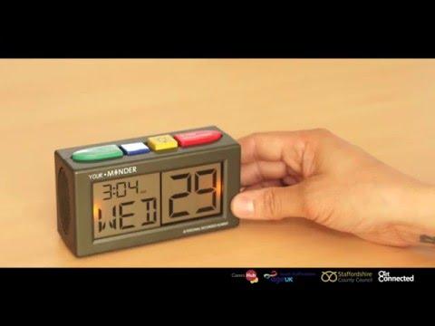 Talking Reminder Clock 2