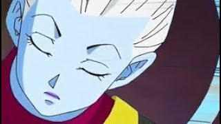 Whis and Broly in Dragon Ball Super BROLY