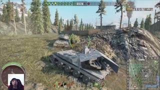 ※顔出し Riaのまったり実況 World of Tanks [WOT][PS4]part 388生放送