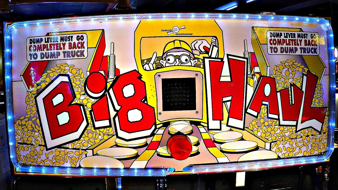 Big Haul Coin Arcade Redemption Game At Dave & Busters Ticket Arcade:  Coin-Op Token Kids Fun
