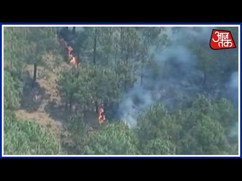 Aaj Subah: Major Fire Breaks Out At Kashmir's Naushera's Forest