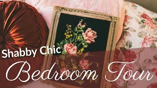 shabby chic vintage style bedroom tour