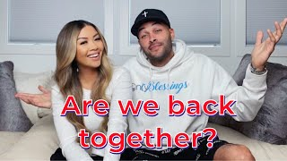 ARE WE GETTING BACK TOGETHER?