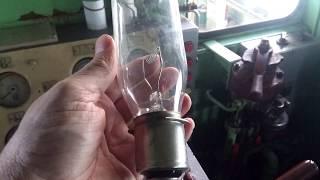 Обзор прожекторных ламп тепловозов.Интересно!