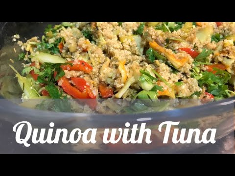 Quinoa with Tuna Recipe | Super Quick, Easy and Healthy