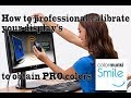 92947ff49 How to professional color calibrate your display. monitor; obtain accurate  colors: Colormunki Smyle