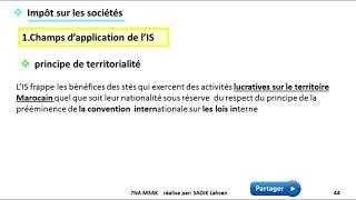 #EP 6 fiscalisé: impôts sur les sociétés  1/5