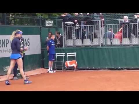 Eugenie Bouchard Roland Garros 2016