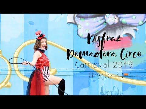 Disfraz De DOMADORA De CIRCO (PARTE 1), CARNAVAL 2019 | DIY | Lorena Gil