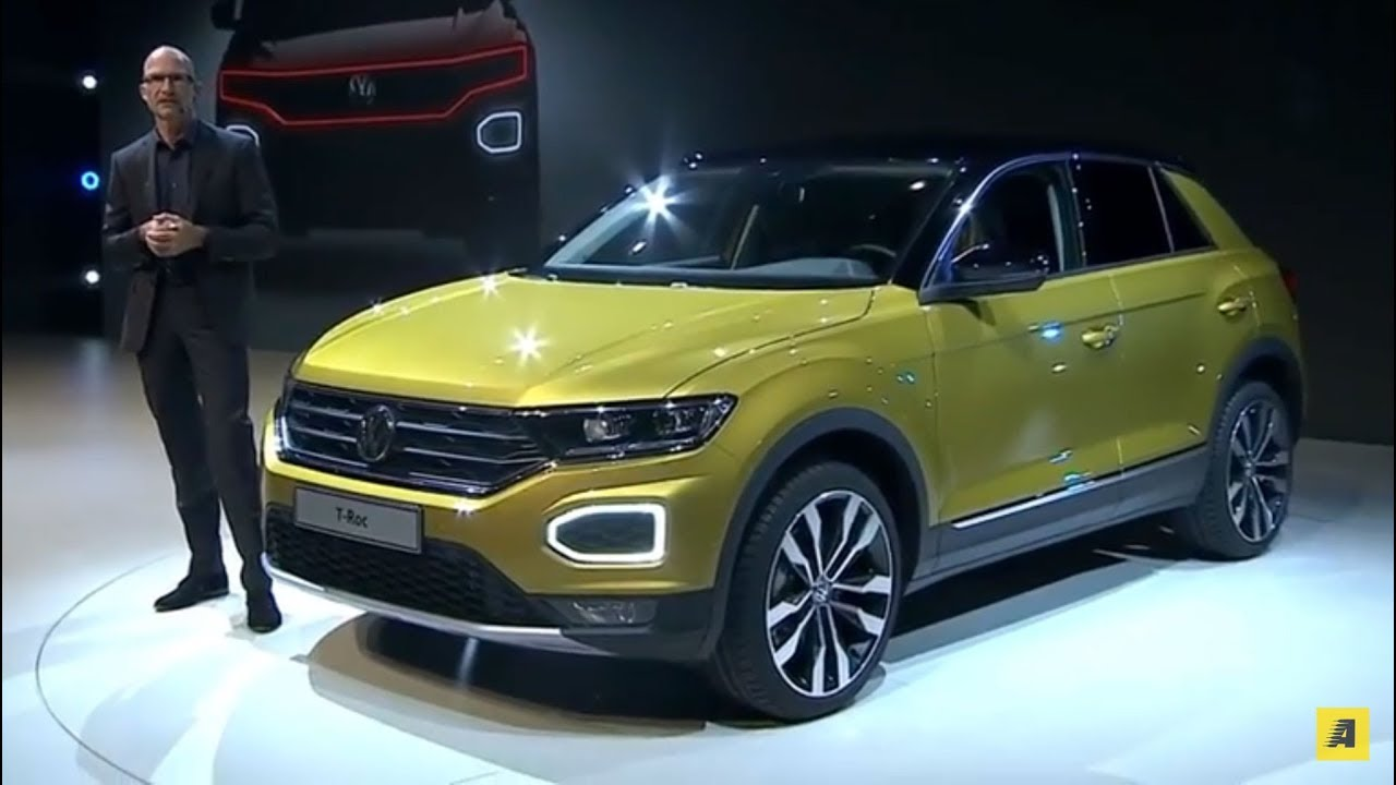 volkswagen t roc l 39 anteprima del nuovo crossover tedesco english sub youtube. Black Bedroom Furniture Sets. Home Design Ideas