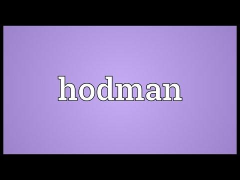 Header of hodman
