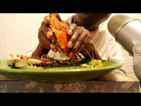 EATING SOUNDS ASMR | Crabs/Compilation 2017