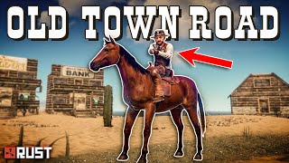 Building a WILD WEST VILLAGE for ROLEPLAYERS - Rust Shop Roleplay (Part 1/2)