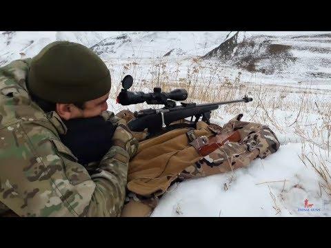 Стрелба на 300 метров с винтовки Мосина ОЦ-48