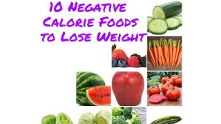 10 Negative Calorie Foods Eat to Lose Weight Fast ! Health & fitness tips by Naveen Sharma