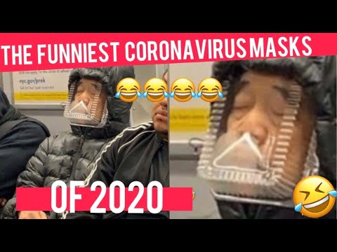 THE FUNNIEST CORONAVIRUS MASKS OF 2020 😂😂 *MUST WATCH* HOW TO MAKE DIY FACE MASK 😷😷 NO SEW MASK