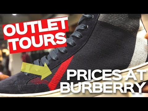 PRICES AT THE BURBERRY OUTLET LONDON | OUTLET TOURS