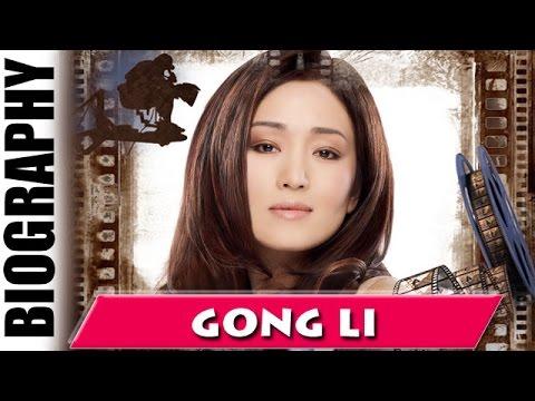 A Beautiful Ambassador Gong Li - Biography and Life Story