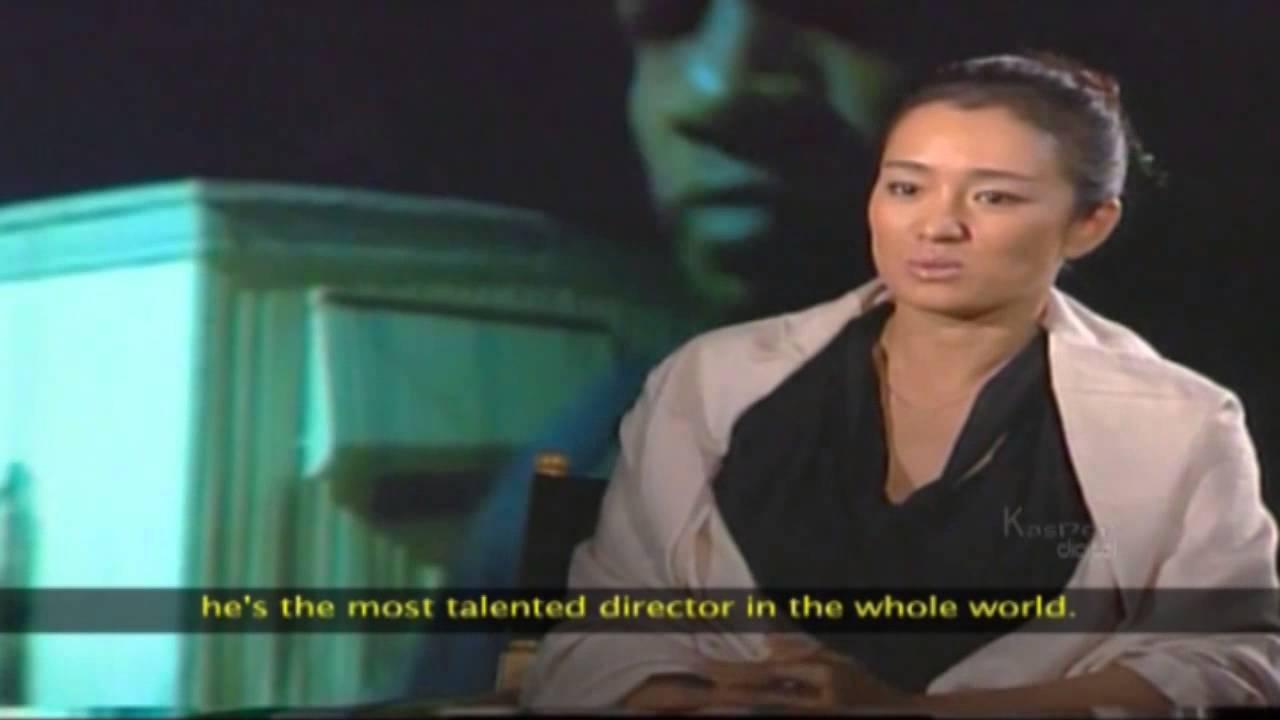 A Beautiful Ambassador Gong Li