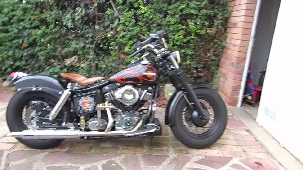 Harley Shovelhead 1200 Fl Bobber