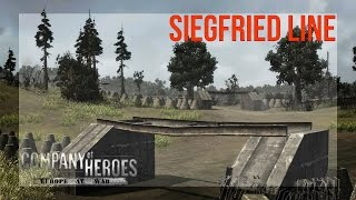Company of Heroes : Europe at War - Mod - Ardennes Campaign - Siegfried Line