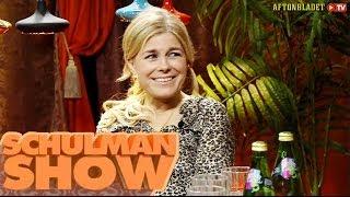 Pernilla Wahlgren i Schulman Show