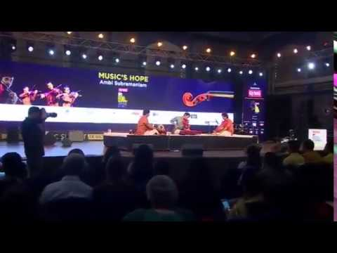 Sripathe - Ambi Subramaniam - Live at MTV Music India Summit - Part 1/2