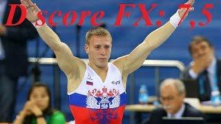 Ablyazin Denis - FX - Russian Championships 2016 - CI