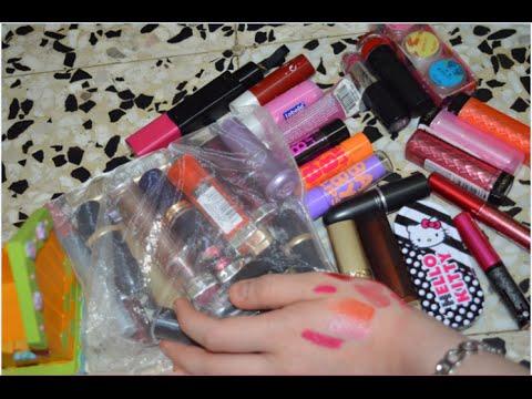 مفضلاتي لأقلام الحمره والمرطبات fall lipstick favorites